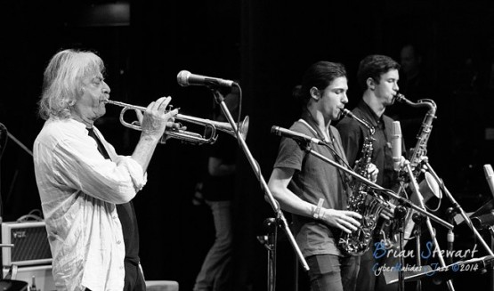 Enrico Rava with Monash Jazz - (D3S_35020)